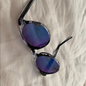 Diff Eyewear Accessories - DIFF Eyewear Charlie Mirrored Sunglasses
